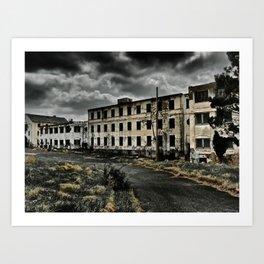 Henryton Hospital Art Print
