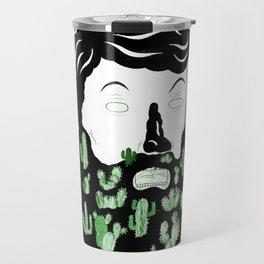 Cactus Beard Dude Travel Mug