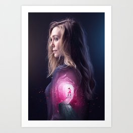 Scarlet Witch Art Print