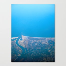 Home From Above Canvas Print
