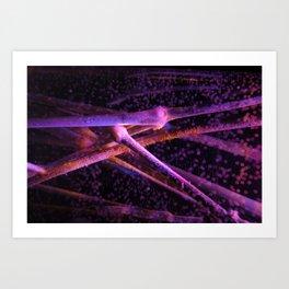 Suspend (Colour) Art Print