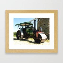 Aveling & Porter roller Framed Art Print