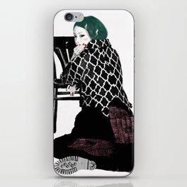 Veronica-w iPhone Skin