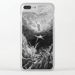 Gustave Doré's The Last Judgement Clear iPhone Case
