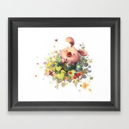 The Sound of A Bug Breathing Framed Art Print
