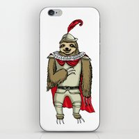 sloth iPhone & iPod Skins featuring Sloth  by Artifact Supply