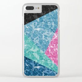 Marble Texture G427 Clear iPhone Case