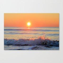We Danced Like A Wave On The Ocean Canvas Print