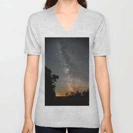 The final frontier Unisex V-Neck