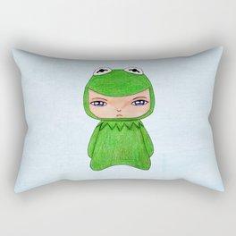A Boy - Kermit the frog Rectangular Pillow