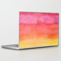 gradient Laptop & iPad Skins featuring Gradient by Diego Tirigall