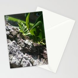 Shine Down, Green Stationery Cards