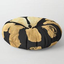 Rorschach Inkblot 08 Floor Pillow
