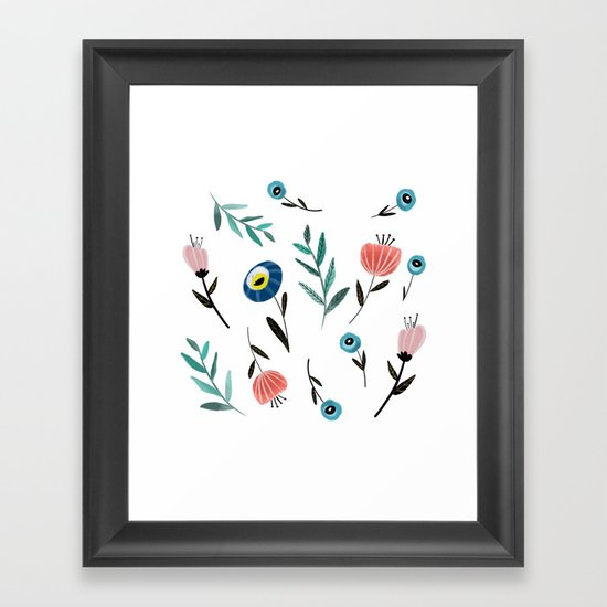 Florals and fronds by tarareed
