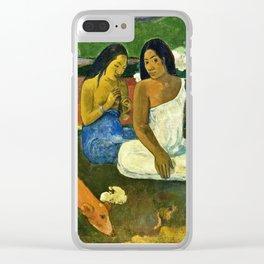 Paul Gauguin - Arearea Clear iPhone Case