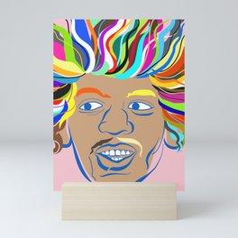 Jimi Hendrix Mini Art Print