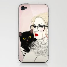 Cats just want to have fun! iPhone & iPod Skin