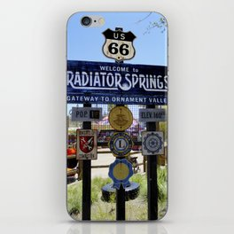 Welcome to Radiator Springs iPhone Skin