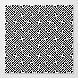 Sayagata Canvas Print