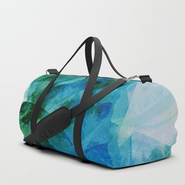 Precipice in Blue I Duffle Bag