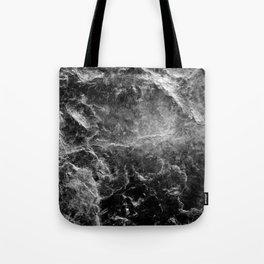 Enigmatic Black Marble #1 #decor #art #society6 Tote Bag