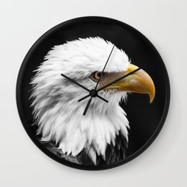 Keeping an eye on your freedom Wall Clock