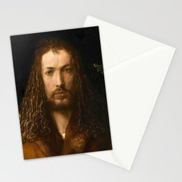 Self-Portrait at the Age of Twenty Eight by Albrecht Dürer Stationery Cards