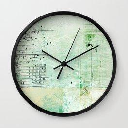 above sea level Wall Clock