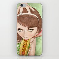 girls iPhone & iPod Skins featuring Life's a Picnic, Bring Your Friend by keith p. rein