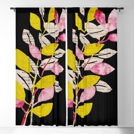 Fall leaves: graphic illustration no. 27 Blackout Curtain