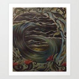 Winter Turmoil  Art Print