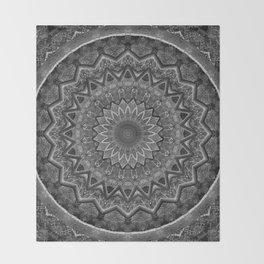 Mandala prehistoric Throw Blanket