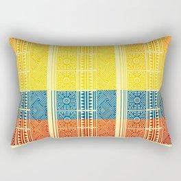 Pre-Columbian art flag Rectangular Pillow