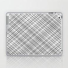 Weave 45 Black and White Laptop & iPad Skin