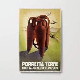 Porretta Terme Metal Print