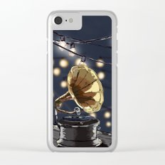 Music Outside Clear iPhone Case