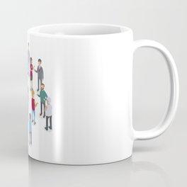 isometric people Coffee Mug