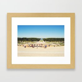 Jardins du Château de Versailles Framed Art Print