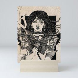 Sailor Saturn - Sailor Moon Fanart Mini Art Print