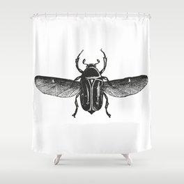 Bug 2 Shower Curtain
