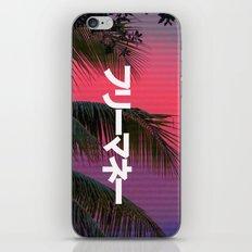 FREExMONEY3 iPhone Skin