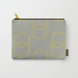 Simply Infinity Link Mod Yellow on Retro Gray Carry-All Pouch