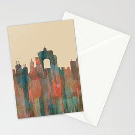 Wellington NZ Skyline - Navaho Stationery Cards
