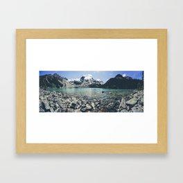 Upper Joffre Lake, Pemberton Framed Art Print