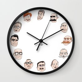 Presidents of Finland Wall Clock