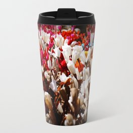 Paper flowers Travel Mug