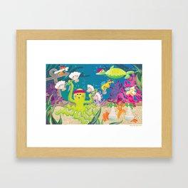 """""""Go The Distance"""" - Sea Gym Framed Art Print"""