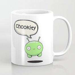 Chookity Mooncake Final Space Coffee Mug