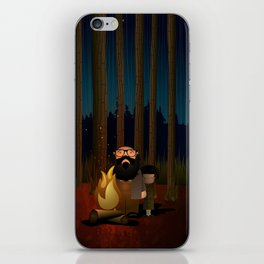 Where The Woods Finds Us iPhone Skin