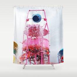 Aqua Park Shower Curtain